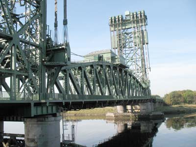 Newport Vertical Lift Bridge